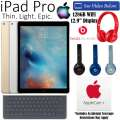 Apple 128GB iPad Pro 12.9� W/WiFi Including Smart Keyboard, Dr. Dre Solo2 HD Headphones & AppleCare+