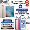 Apple iPad Gift Bdl Featuring 64GB iPadPro 10.5� W/Retina Display,WiFi & Cellular + 32GB iPodTouch 6