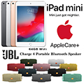 Apple 64GB iPad Mini & 2Yr Protection Plan+Accidental Damage Bundled with JBL Charge 4 Speaker