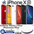 Apple 128GB iPhone XR *UNLOCKED* & 2Yr ProtectionPlan+Accidental Damage Bundled W/Wireless ChargePad