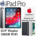 """Apple 12.9"""" iPadPro 256GB with Wifi Bundled W/Your Choice of SmartCover & AppleCare+ Protection Plan"""