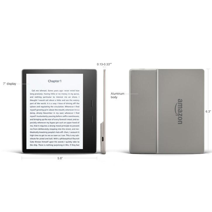 Amazon Kindle Oasis E Reader W Cover Screen Protector