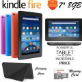 "Powerful Tablet @ An Incredible Price; Kindle 8GB Fire 7"" Tablet W/5thGen Case & 2Yr Protection Plan"