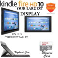 Largest Display & Thinnest Kindle 16GB Fire HD 10 10.1