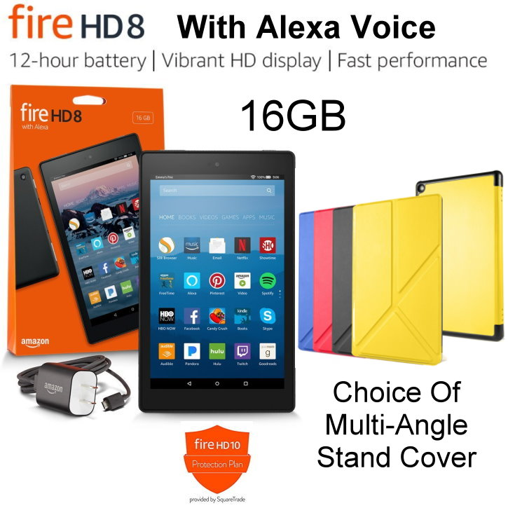 """All-New 16GB Kindle Fire HD 8"""" Tablet with Alexa Hands-Free"""