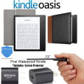 """All- New 32GB Kindle 7"""" Oasis E-Reader with Cover, Screen Protector, Charger & 2 YR Protection Plan"""