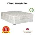 "Kingsdown Vintage Collection Euphony 11"" Firm Twin Mattress Set; Elegant Blend of Nature & Luxury"
