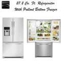 Kenmore 27.2 Cu. Ft. French Door Refrigerator with Pullout Bottom Freezer in Stainless Steel