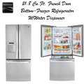 Kenmore Elite 21.8 cu.ft. French Door Bottom-Freezer Refrigerator W/ Removal & 2 Year Warranty