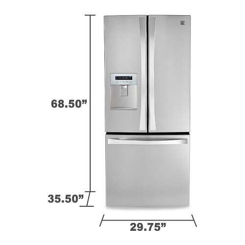 Kenmore 4-Piece Black/Stainless Steel Kitchen Appliance Package ...