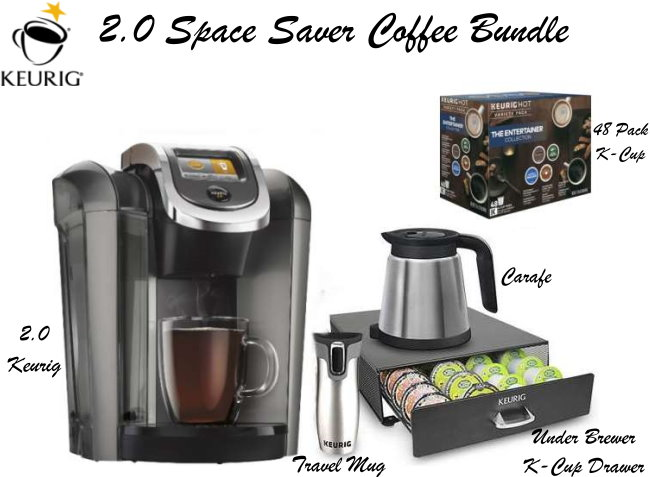 superb Kitchen Appliances Buy Now Pay Later #3: Keurig 2.0 Space Saver Bundle