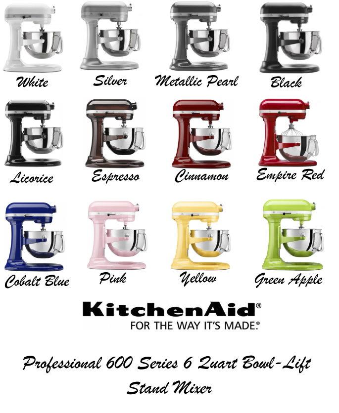 KitchenAid Professional 600 Series 6-Quart Bowl Lift Mixer ...