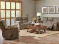 Relax & Unwind 2PC Reclining Living Room Pkg Featuring Padded Arm Rests & Tufted Back Cushions