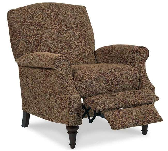 Paisley Patterned High Leg Recliner in an Incredibly Smooth u0026 Soft Upholstery | Luther Appliance and Furniture  sc 1 st  LutherSales & Paisley Patterned High Leg Recliner in an Incredibly Smooth u0026 Soft ... islam-shia.org