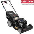 "Craftsman 21"" Gas 163cc Quiet Front Wheel Drive Lawn Mower with High Rear Wheels"