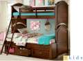 Perfect for Boys & Girls Offering Twin over Full Bunkbeds with Storage & Child Safe Construction