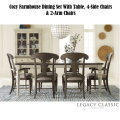 A Cozy Farmhouse Look; Brookhaven Legacy 7-PC Dining Set Is An Inviting Collection To Any Home