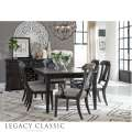 Townsend 7-PC Dark Sepia Rectangular Extension Leg Dining Room Set by Legacy Classic