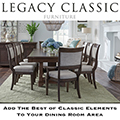 Add The Best of Classic Elements & Comfortable Tones To Your Dining Room Area with This 7-Piece Set