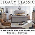 Traditional Elements Combined w/The Medium-Toned Finish Create A Relaxed Styling To Your Home