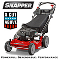 "Snapper 21"" HI-VAC 190cc Push Lawn Mower With ReadyStart System & 7 Position Height-of-Cut"