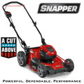 "Snapper HD 48V MAX Cordless Electric 20"" Lawn Mower Kit w/5.0 Battery, Rapid Charger"
