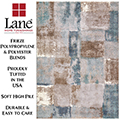 "Lane Macksburg Armani-Glass Multi 6'6""x9'6"" Area Rug"