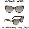Michael Kors Tabitha I Grey Gradient Cat Eye Sunglasses - Available In Black Glitter Frame