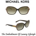 Michael Kors Cuiaba Round Frame Sunglasses - Available in Smoke Gradient Lens