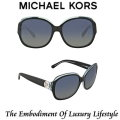 Michael Kors Kauai Polarized Round Frame Sunglasses - Available in Blue Green Lens