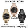 Michael Kors Access Bradshaw 44.5mm Stainless Steel Smartwatch-Available In Gold, Rose Gold & Black