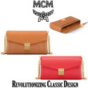 MCM Medium Millie Leather Crossbody - Available in Two Colors