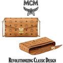 MCM Millie Flap Crossbody in Visetos - Available in Cognac