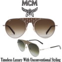 MCM Collection 150S Classic Aviator Uni-Sex Sunglasses - Available in Green / Olive Visetos