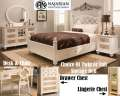 Tw Or Fl Storage Bed Offering Storage On Both Sides Featuring A Pearl Finish W/Neutral Brown Accents