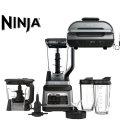 Ninja  Black/Stainless Steel & Ninja� Foodi� Smart XL 6-in-1 Indoor Grill with 4-qt Air Fryer