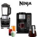 Ninja� 10-Cup Specialty Coffee Maker Ninja - Foodi Cold & Hot Blender - Stainless Steel/Black