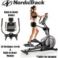 NordicTrack Elliptical Trainer With 20 Resistance Levels & Heart Rate Monitoring