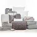 Callum Gray 24-Piece Twin XL Bedding & Bath Bundle with FREE Bonus Storage Trunk