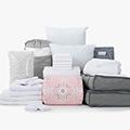 Dina 24-Piece Twin XL Bedding & Bath Bundle with FREE Bonus Storage Trunk