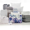 Enza Floral 24-Piece Twin XL Bedding & Bath Bundle with FREE Bonus Storage Trunk