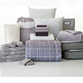 Gerard Gray 24-Piece Twin XL Bedding & Bath Bundle with FREE Bonus Storage Trunk