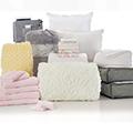 Jasmine White 24-Piece Twin XL Bedding & Bath Bundle with FREE Bonus Storage Trunk