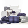 Keaton 24-Piece Twin XL Bedding & Bath Bundle with FREE Bonus Storage Trunk