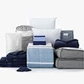 Nantucket 24-Piece Twin XL Bedding & Bath Bundle with FREE Bonus Storage Trunk