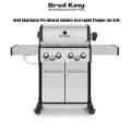 Broil King  Baron  Pro Stainless Steel Liquid Propane Gas Grill