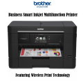 Brother Business Smart Inkjet Multifunction Printer Featuring Wireless Print Technology