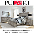 Timeless Quality Featuring Bluff Grey Washed Finish & Blanket Chest Footboard for Storage