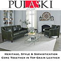 Pulaski Leather; Ultimate Seating Vintage Styling & Individually Wrappped Drop in Coil Seating