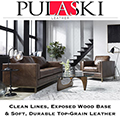 Pulaski Leather Absolutely Gorgeous Design Featuring Gel Infused Memory Foam Seating